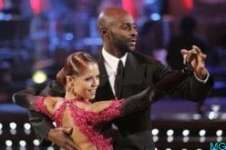 Rice during his surprisingly successful turn in Dancing With the Stars.