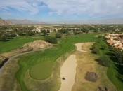 A typical bunker at PGA West Stadium course.