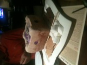 The fiery S'more conclusion to a burger capped round of golf.