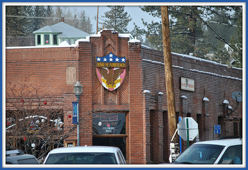 Truckee's Bar of America.