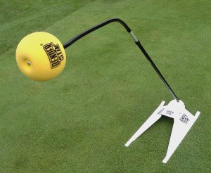 The Benderstick works in a golf bag and on a stand.