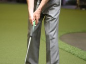 Long, but not quite like a belly putter, the Boccieri EL Series imparts the same balanced feel as an anchored stroke.