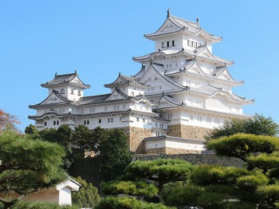 Himeji Castle, in the home of Mirua Golf.