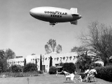 The Goodyear Blimps spent considerable time at the Wigwam, providing rides for guests.