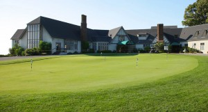 The Walter Ratcliff designed Clubhouse is still a classic Tudor structure.