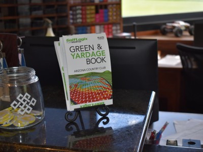 Coming to a pro shop near you: The GolfLogix Green Book.