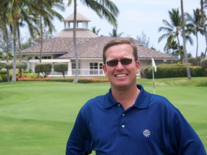 Scott at Waikoloa Kings'