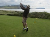 Hal Phillips and his ballet-like golf swing.