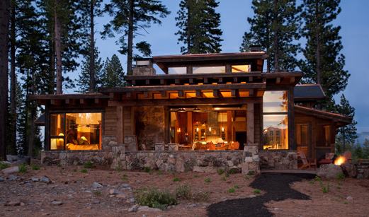 Modern Log Cabin ~ Tahoe s martis camp grows up even if you haven t
