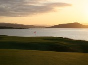 18th Par 5 evening shot
