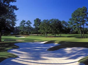 Atlanta Athletic Club. Riverside 18. Photo by Larry Lambrecht.