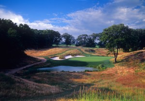 Bethpage Black, post-Rees Jones.  Photo by Larry Lambrecht.