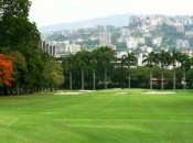 Caracas Country Club: the View to Ávila Mountain