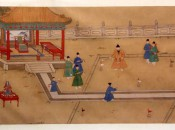 The Original Chinese Golfer? The Ming Emperor Xuande, 15th Century.
