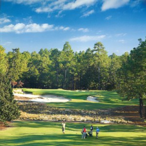 The Par Three 9th at Pinehurst #2