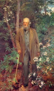 Frederick Law Olmsted. Portrait by John Singer Sargent, 1895. Courtesy WikiCommons.