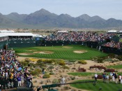 "The ""stadium"" on 16 at the Waste Management Phoenix Open.  Think Rome less the lions."