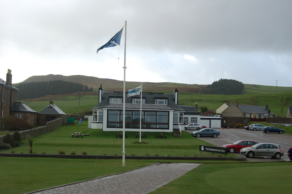The clubhouse at Machrihanish Golf Club is one of the best 19th holes in golf, perfect for a chilly round, with a peat fire, malt whiskies and friendly company to warm the heart and body.