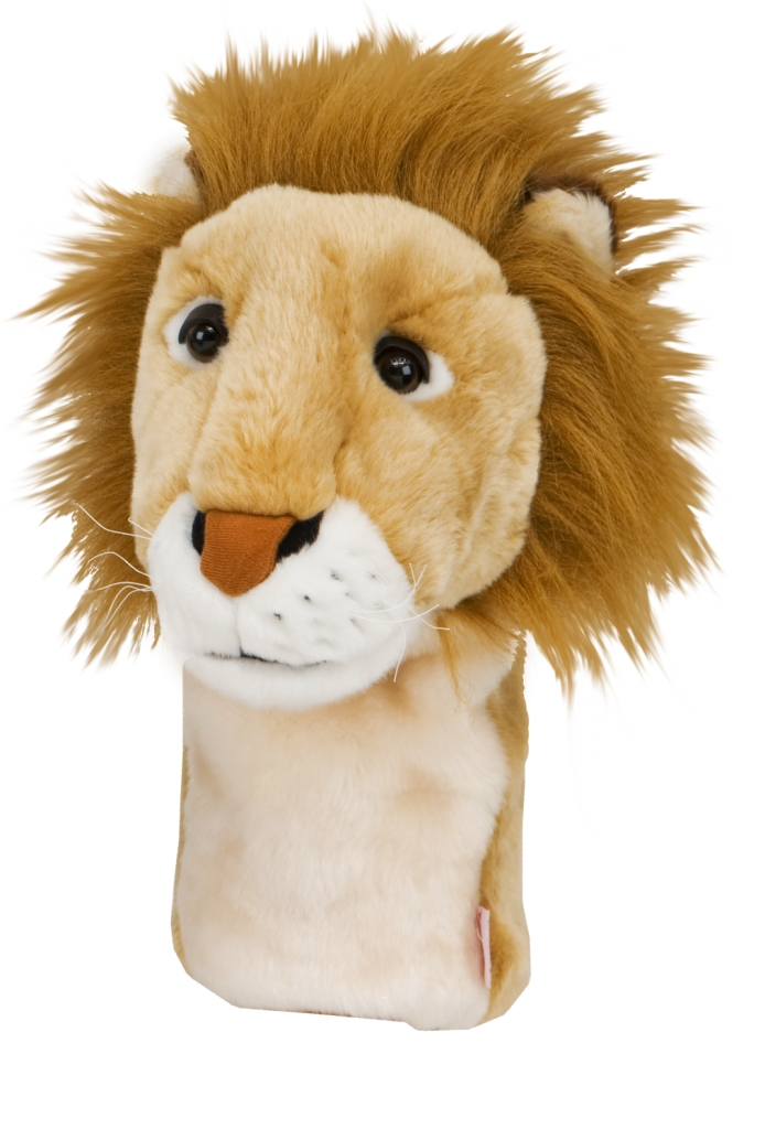 Ernie Els carries this lion headcover from Daphne's when he plays onthe PGA Tour. When you carry it, you help support his charitable foundation.