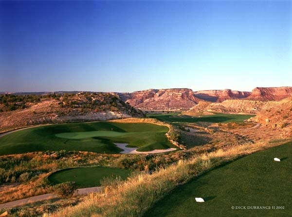 By the time you get to the twelfth, you will have figured out that every hole will have you scratching your head in amazement. (Photo courtesy of the Grand Junction Visitor and Convention Bureau).