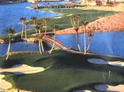 By combining holes in the desert, mountains and along Nevada's largest private lake, Jack Nicklaus produced one of the nation's best golf courses, Reflection Bay, at the Lake Las Vegas resort.