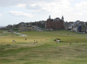 I love this view of the Old Course at St. Andrews while sipping a wee dram of malt whisky neat after a memorable round. The editors at Golf Digest would rather stare at downtown Seattle.