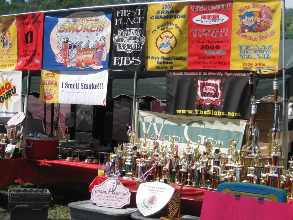 what do barbecue competitions and golf have in common more than