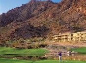 The 5-Star Phoenican resort is one of the best inthe Phoenix/Scottsdale area, and its 27-hole course is pretty good too. This summer it's also pretty cheap, at least if you like cocktails!