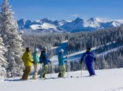 Vail's excellent Ski School is world class - but so is every other aspect of the resort. Courtesy of: Jack Affleck/Vail Resorts