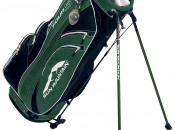 This is the carry bag I used until recently, Sun Mountain's fully-divided Four 5. Note the sleeves for each club.