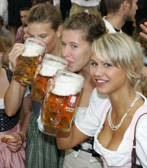 What makes Oktoberfest so great? Duh!