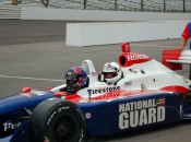 "Yours truly takes ""hotlaps"" at the famed Indianapolis Motor Speedway with veteran Indy Car driver Arie Luyendyk Jr."