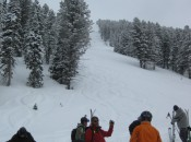 See those sexy powder lines? At Targhee, every skier gets their own unbroken line, in or out if the trees, on every run!