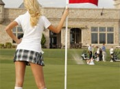 The Parmates caddies are just one of the minor differences between golf in Vegas and Scotland.