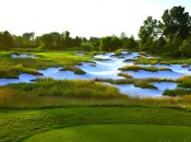 Harbor Shores is a new Jack Nicklaus design on the shore of Lake Michigan between Chicago and Grand Rapids.