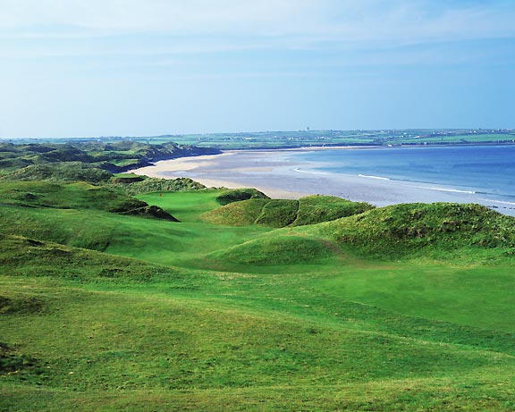 Ballybunion Old Course, hole 11, photo by John and Jeannine Henebry.