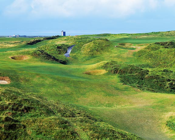 Tralee Golf Course, hole 17, photo by John and Jeannine Henebry.