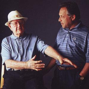 Byron at his ranch sharing swing secrets