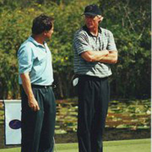 Greg Norman at the opening of The National at Champion's Gate