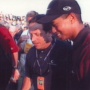 Tiger Woods after winning PGA in 2000