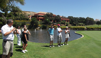 Gecko Euro Pro Tour, Santa Clara Golf Club, Golf in Marbella, Golf in Spain