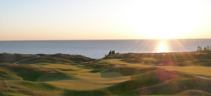Arcadia Bluffs, Golf in Michigan, Pure Michigan