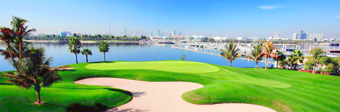 The Majlis Course at the Emirates Golf Club © Peter Corden