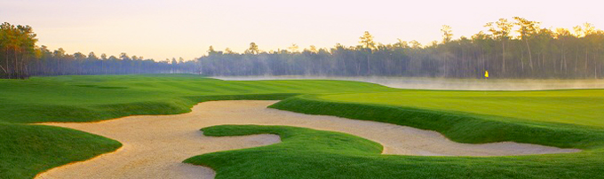 The Rees Jones designed Tournament course at Redstone Golf Club