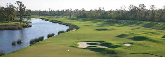 The TPC Louisiana course hosts this weeks Zurich Classic of New Orleans © theaposition.com