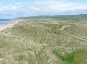 The view from the 15th tee and across the Dunes © James Mason