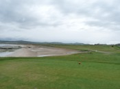 The 1st hole at Machrihanish Golf Club, feeling lucky?