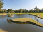 The infamous 17th at Sawgrass © Peter Cordon