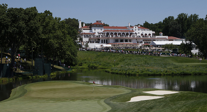 The 18th hole at Congressional Country Club © Keith Allison