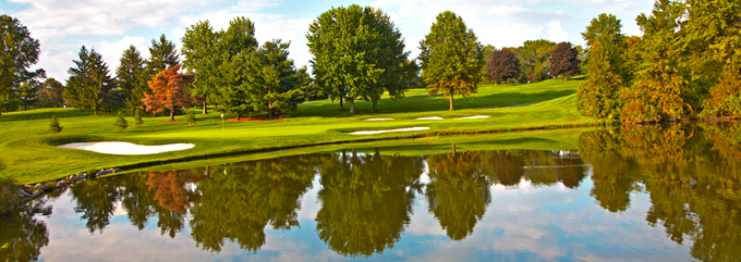 The 11th green at the Firestone CC © Peter Corden